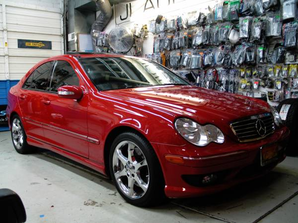 Red MB C-Class